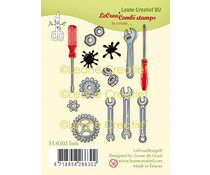 Leane Creatief Tools Clear Stamps (55.6302)