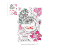 Polkadoodles Splendoured Love Clear Stamps (PD8019)
