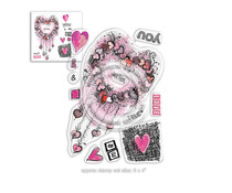 Polkadoodles Me & You Clear Stamps (PD8020)