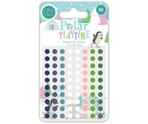 Craft Consortium Polar Playtown Adhesive Enamel Dots (CCADOT006)