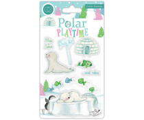 Craft Consortium Polar Playtime Make a Splash Clear Stamps (CCSTMP021)