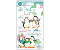 Craft Consortium Polar Playtime BFF Clear Stamps (CCSTMP022)