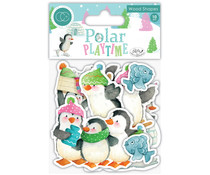 Craft Consortium Polar Playtime Wood Shapes (CCWDNS003)