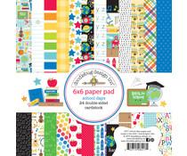 Doodlebug Design School Days 6x6 Inch Paper Pad (6417)
