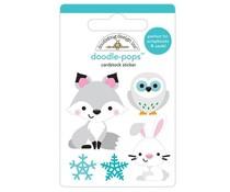 Doodlebug Design Foxy & Friends Doodle-Pops (6467)