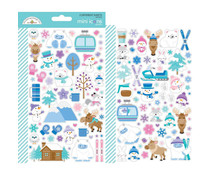 Doodlebug Design Winter Wonderland Mini Icons Sticker (6472)