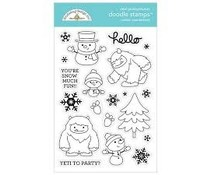 Doodlebug Design Winter Wonderland Doodle Stamps (6481)