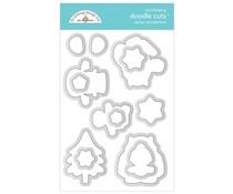 Doodlebug Design Winter Wonderland Doodle Cuts (6482)