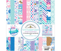 Doodlebug Design Winter Wonderland 12x12 Inch Paper Pack (6544)