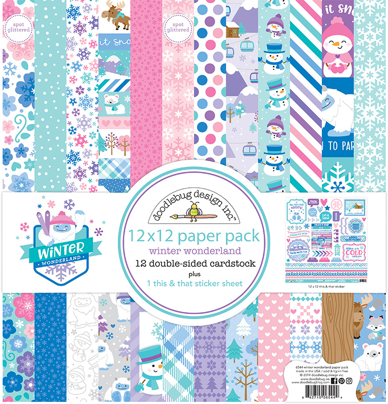 """Our Family Cardstock Multi Stickers 12/""""X12/"""""""
