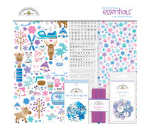 Doodlebug Design Winter Wonderland 12x12 Inch Essentials Kit (6547)