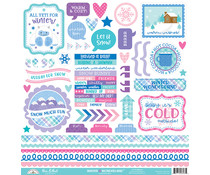 Doodlebug Design Winter Wonderland This & That Stickers (6563)