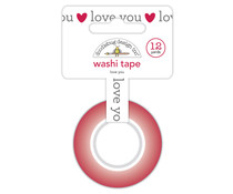 Doodlebug Design Love You Washi Tape (6571)