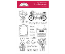 Doodlebug Design Love Notes Doodle Stamps (6584)