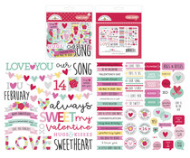 Doodlebug Design Love Notes Chit Chat (79pcs) (6603)