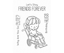 My Favorite Things Friends Forever Clear Stamps (BB-097)