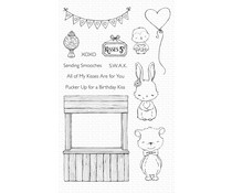 My Favorite Things Kissing Booth Clear Stamps (SY-17)
