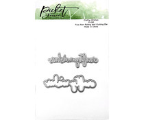 Picket Fence Studios Crafty Wishes Foil and Cutting Die (FI-120)