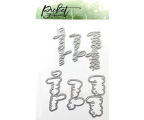 Picket Fence Studios Love Set Foil and Cutting Die (FI-106)