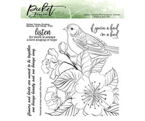 Picket Fence Studios Beauty and Song Clear Stamps (F-124)