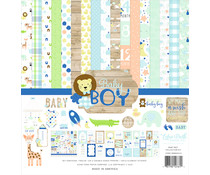 Echo Park Baby Boy 12x12 Inch Collection Kit (BAB203016)