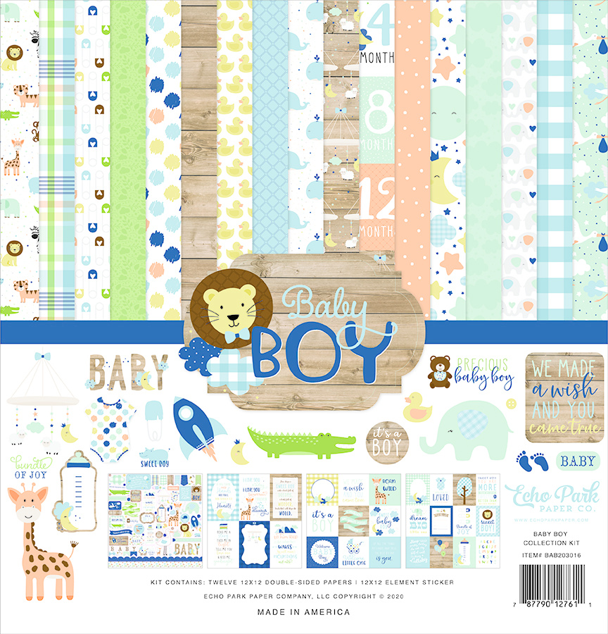 I d Rather Be, Echo Park Paper Company Collection Kit