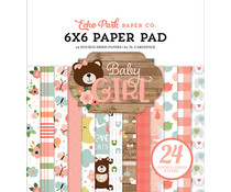Echo Park Baby Girl 6x6 Inch Paper Pad (BAG202023)