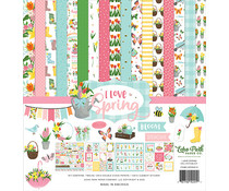 Echo Park I Love Spring 12x12 Inch Collection Kit (LSP204016)