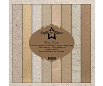 Dixi Craft Kraft Papers 6x6 Inch Paper Pack (PF116)