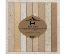 Dixi Craft Kraft Papers 12x12 Inch Paper Pack (PF316)