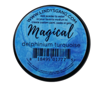 Lindy's Stamp Gang Delphinium Turquoise Magical (mag-jar-03)