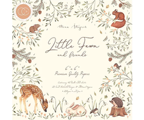 Craft Consortium Little Fawn & Friends 6x6 Inch Paper Pad (CCPPAD008B)