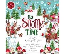 Craft Consortium It's Snome Time 6x6 Inch Paper Pad (CCPPAD011B)