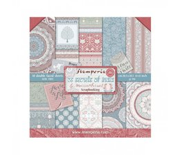 Stamperia 26 Secrets of India 8x8 Inch Paper Pack (SBBS14)