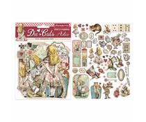 Stamperia Alice Die Cuts (DFLDC07)