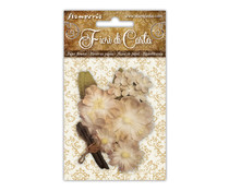 Stamperia Mixed Ivory Paper Flowers (SF146)