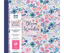 First Edition Bloom and Wonder 12x12 Inch Album Flowers (FEALB102)