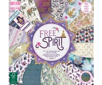 First Edition Free Spirit 12x12 Inch Paper Pad (FEPAD212)