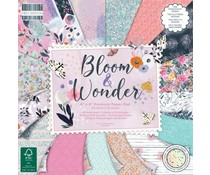 First Edition Bloom and Wonder 8x8 Inch Paper Pad (FEPAD225)