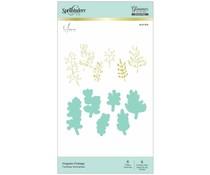 Spellbinders Organic Foliage Hot Foil Plate & Die Sets (GLP-154)