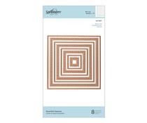 Spellbinders Essential Squares Dies (S4-1037)