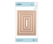 Spellbinders Essential Rectangles Dies (S5-411)