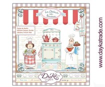 DayKa Trade Cocina 8x8 Inch Paper Pad (SCP-1027)
