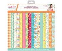 Crafter's Companion Crafty Fun 12x12 Inch Paper Pad (S-CF-PAD12)