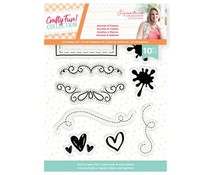 Crafter's Companion Crafty Fun Accents & Frames Clear Stamps (S-CF-ST-ACCF)