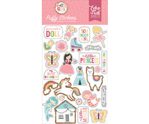 Echo Park All Girl Puffy Stickers (ALG206066)