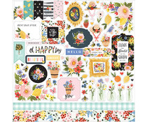 Carta Bella Oh Happy Day 12x12 Inch Element Sticker (CBOHD112014)