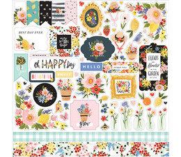 Carta Bella Oh Happy Day 12x12 Inch Element Sticker (CBOHD112014)