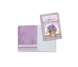 Stamperia A5 Notebook Vase of Lavender (ENBA5027)