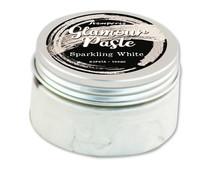 Stamperia Sparkling White Glamour Paste 100ml (K3P61A)